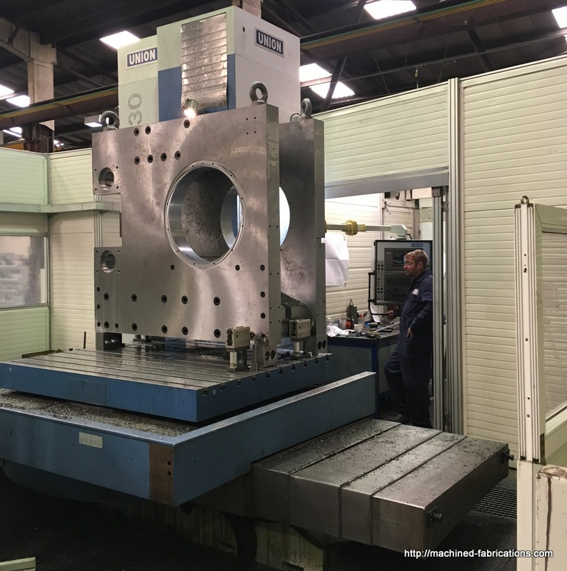 Large Subcontract Machining
